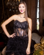 Model: Magdalena ; MBC15 Produced by Sherrie Gearheart; Clothing Desinger: C. Rinella Designs; Venue: Boutique Home Loft